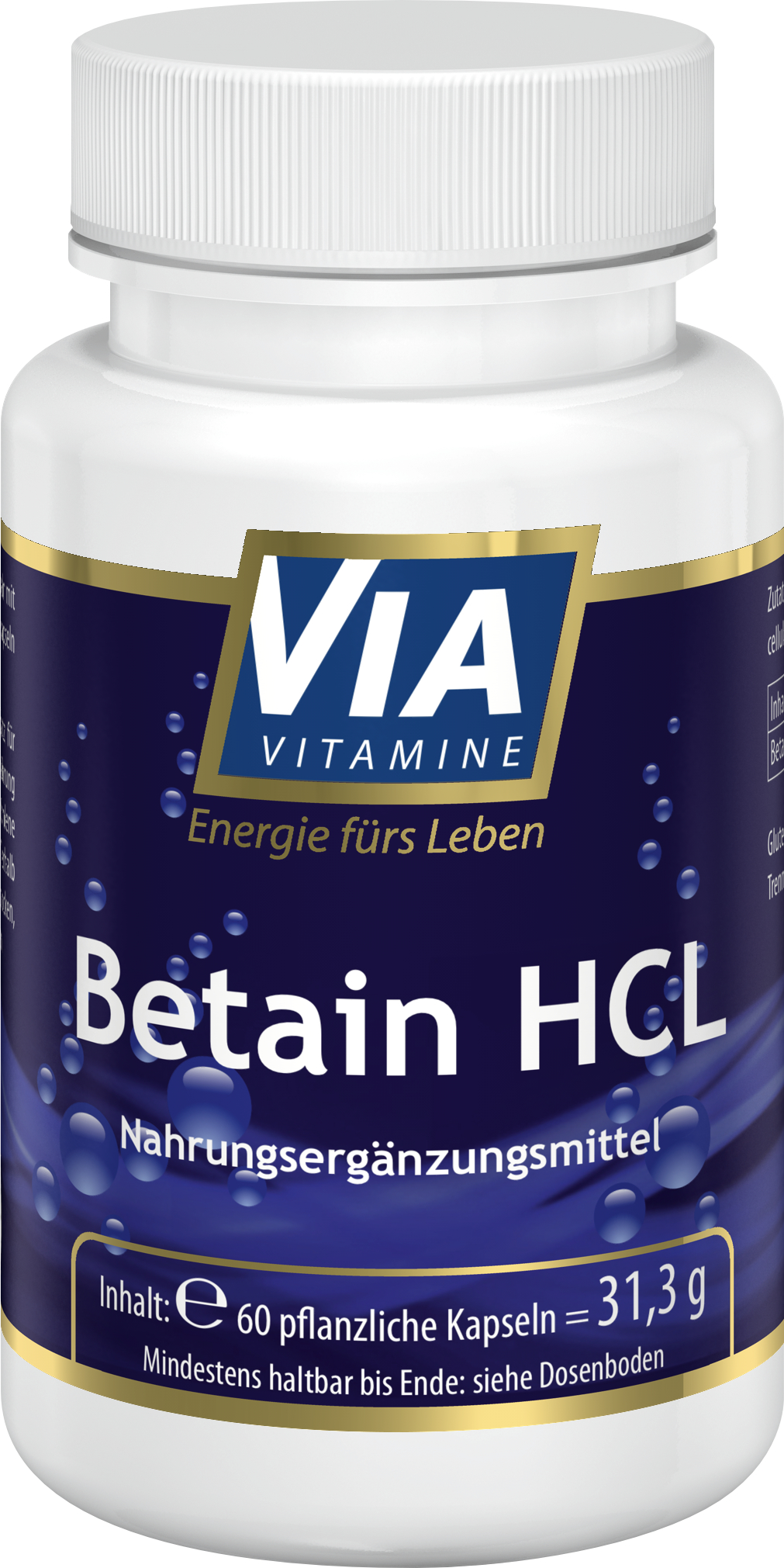 Betain HCL 425 mg