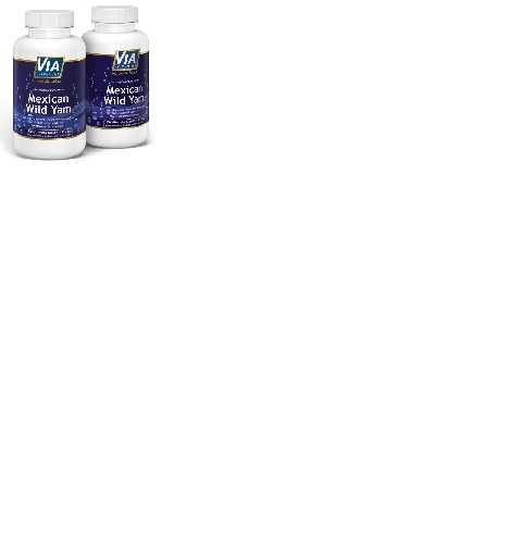 2er Sparpack Mexican Wild Yam, 750mg pro Kapsel, KEIN Extrakt