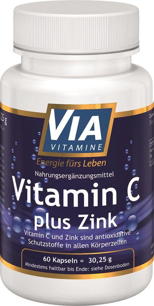 vitamin c plus zink 60 kapseln. Black Bedroom Furniture Sets. Home Design Ideas